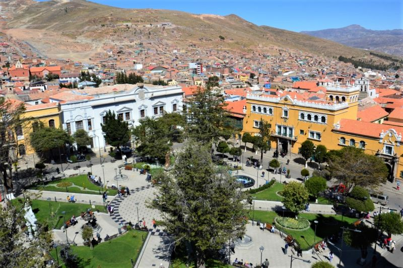 Potosi belongs to things to see in Bolivia